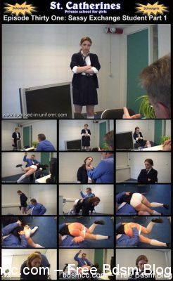 Spanked In Uniform - St. Elizabeth 31