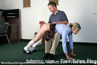 Real Spankings Institute - Mila: Spanked OTK by The Dean