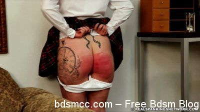 Real Spankings Institute - Jordyn's visit to the Dean's office (Part 1)