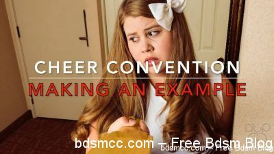 AssumethePositionStudios - Cheer Convention - Making an Example of Christy Cutie
