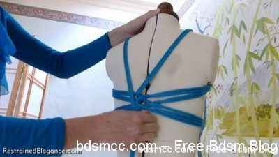Restrained Elegance - Tutorial: Basic Western-Style Chest Harness