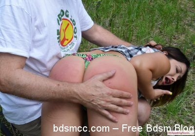 My Spanking Roommate - Episode 231: Lana Lopez Spanked in Woods