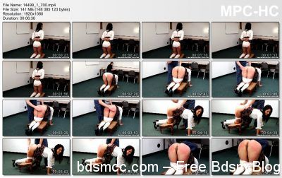 Real Spankings Institute - Delta: Spanked for Disrupting Class
