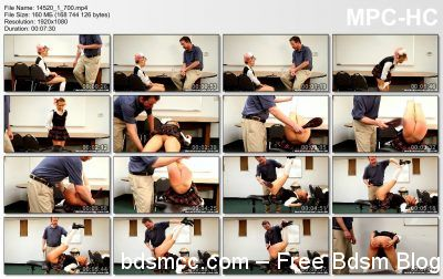 Real Spankings Institute - Anal Discipline and a Legs Up Paddling