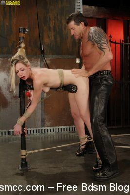 Dungeon of Cum - Hot Iron and Hard Ties - Rylie RIchman