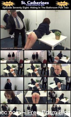 Spanked In Uniform - St. Catherines Episode 78