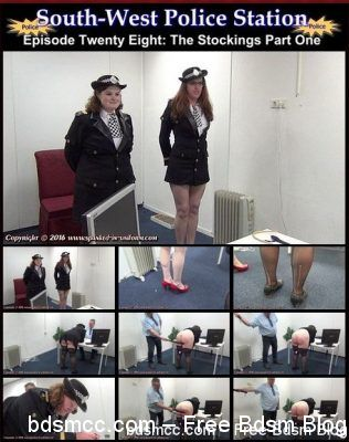 Spanked In Uniform - South-West Police Station 28