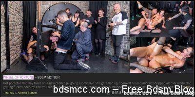 CrowdBondage - Wheel of Fortune - BDSM Edition