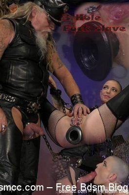 SensualPain - July 11, 2018 - 3 Hole Fuck slave part1 | Abigail Dupree