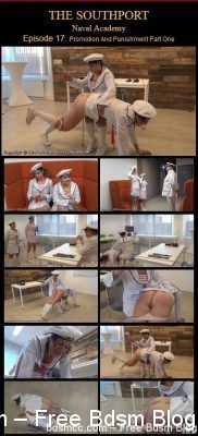 SpankedInUniform - Southport Naval Academy Part 17
