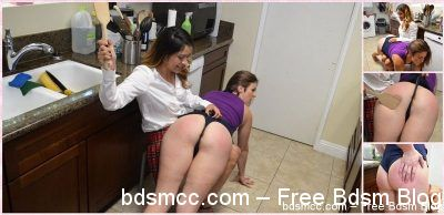 SpankingSororityGirls - Episode 169: Nikki Spanked for Bad Cooking