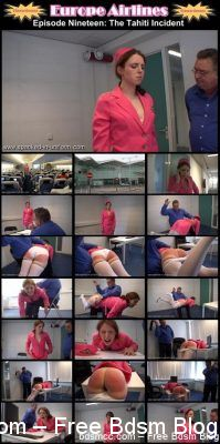 SpankedInUniform - Europe Airlines Episode 19