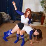 MySpankingRoommate – Episode 286: Kay Spanked By Volleyball Teammate