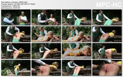 FirmHandSpanking - Princess Punishment - E - Amelia Rutherford