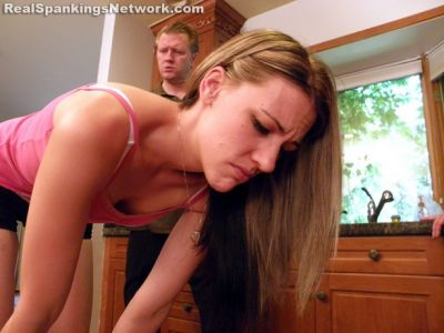 RealSpankingsNetwork – Monica Spanked with the Belt