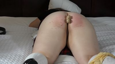 AssumethePositionStudios - Room Inspection 3 Figging and Caning for Naughty Christy