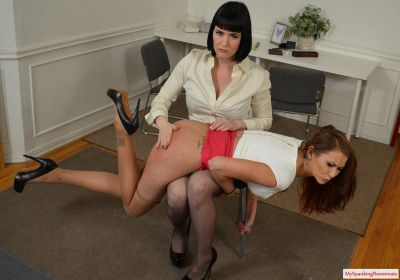 MySpankingRoommate - Episode 213: Snow Battles Office Manager Alexis Grace